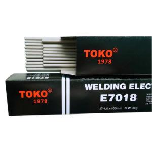 Elektrode van het Lassen van de Waterstof van Aws E7018 de Lage