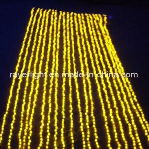 Cachoeira do LED luz líquida Holiday parte casa natal de decoração