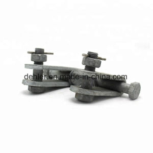 Alta calidad de la horquilla de acero galvanizado en caliente, Ub Escriba para suspensión de la línea de tendido eléctrico/Angulo Recto/placas de montaje de la línea aérea