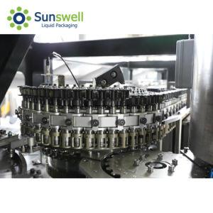 Sunswellジュースの詰物のためのCombiblockを吹満たキャップするプラスチックペットびん