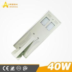 40W alle in einem Solarlicht Using Bridgelux Chip der hohen Leistungsfähigkeits-LED