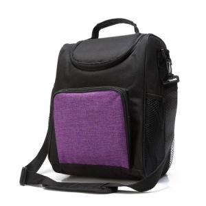 熱の大きい食事のパッケージの昼食袋のCrossbodyの女性の低温貯蔵のテークアウトのショルダー・バッグの氷パックのクーラー袋