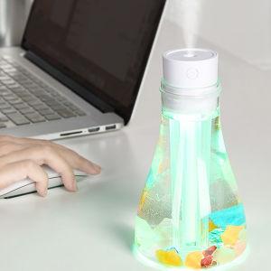 Gostaria garrafa arrefecer Mist Humidificador Mini-Ar Mist humidificador com luz de LED