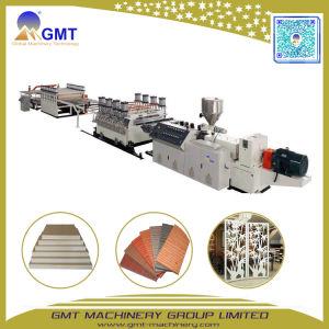 Espulsore di plastica di legno della scheda dello strato della gomma piuma del PVC 4*8FT del composto che fa la fabbrica di macchina