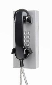 Вандалозащищенная телефон для обеспечения безопасности, Прочный настенный телефон для кухни