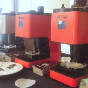precio de fábrica nueva llegada Chocolate Comestibles impresora 3D.