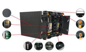 P6 768mm*768mm IP65 Affichage LED de plein air pour la location