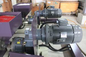 ポリ袋のための2つのカラー縞ラインフィルムの吹く機械