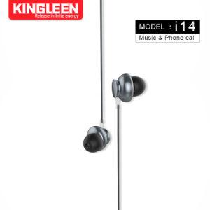 Модель I14 наушники-вкладыши гарнитуры 3,5 мм разъем для наушников
