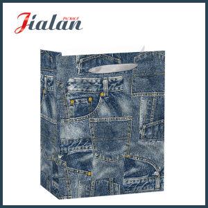 2018 Nouveau design de mode Jeans sacs de papier d'emballage cadeau