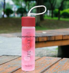 Hochwertige Getränkeflasche mit Smiley Gesicht in der Mode 360ml