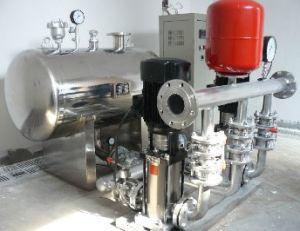Additive Wasserversorgungsanlage-Wasserversorgungsanlage des Rohr-Druck-(negativer Druck)