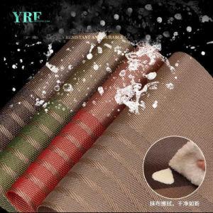Yrf Placemat de folha de vinil de alta qualidade com o seu próprio design