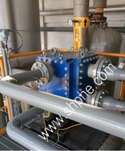 高圧クーラー石油化学製品のすべての溶接された版の熱交換器