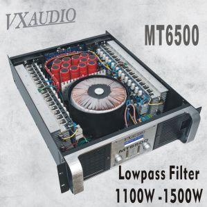 2*1500W display LCD de Alto Pass e o filtro passa-baixo amplificador de potência (MT6500)