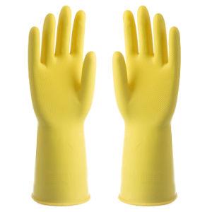 Hogar guantes de goma para la limpieza de cocina