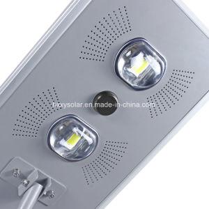 太陽屋外ライトはCCTVのカメラが付いている1つのLEDの太陽街灯のすべてを統合した