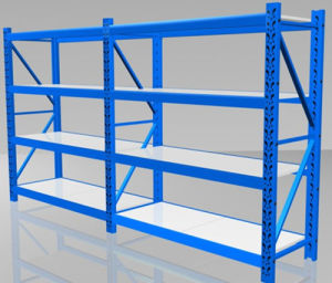 Stahllager-Speicher-Regal für Bildschirmanzeige