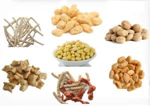 Lijn van de Verwerking van het Voedsel van de Snacks Maigre van de sojaboon de Eiwit