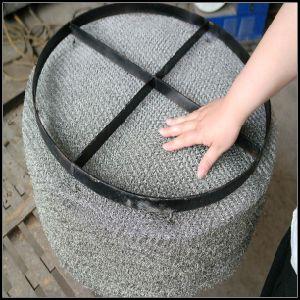 De roestvrij staal Gebreide Eliminator van de Mist van het Netwerk van de Ruitverwarmer van het Netwerk van de Draad