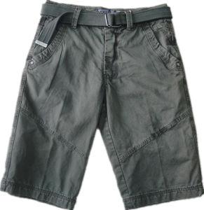 Cargo 100% del Men del cotone Short Pants per Casual Sport (S0027)