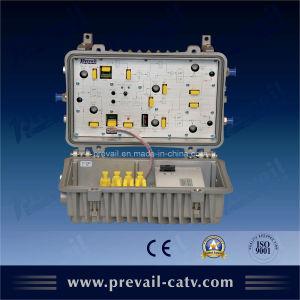 Amplificador de RF CATV al aire libre (WA8338C) en el exterior