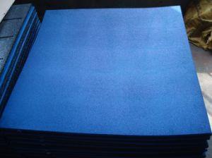正方形EPDM斑入りのCrossfitの体操のゴム製体育館のフロアーリングのマット