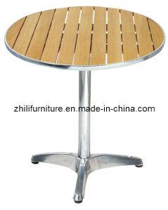 Mobilia di legno del patio, insieme di legno esterno, sedia di legno di alluminio (G4CL-5A)
