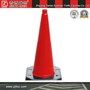 100cm 9kgs Heavy Duty tous cône de la sécurité routière en caoutchouc (CC-A100)