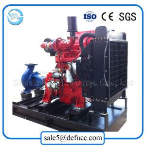 Pompa estinguente di singola aspirazione con l'insieme del motore diesel