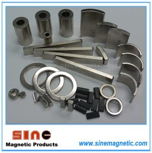 Forte magnete magnetico permanente di NdFeB del magnete neodimio/del materiale