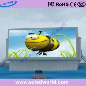 P8/P10 fijo al aire libre de vídeo LED paredes de la publicidad de 960x960mm mueble de hierro