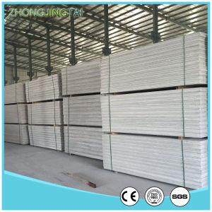 El panel de pared interior del panel sándwich de material para la construcción de la estructura de acero/acero