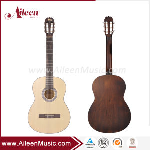 Все твердые ель верхней части Китая на заводе классическая гитара (ACM-H10)