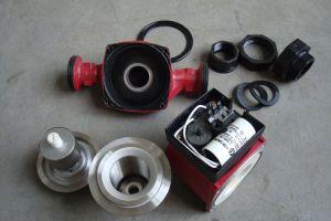 3 La velocidad, el agua caliente, la bomba de circulación de inicio