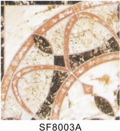 De ceramische Tegels van het Lichaam van Inkjet Rode (400X400mm)
