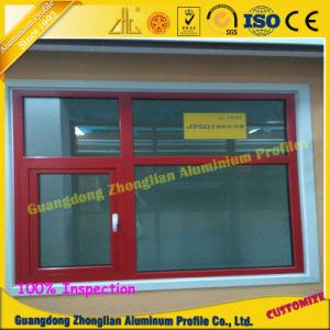 Profilo ricoprente della finestra di alluminio e del portello della polvere con l'isolamento termico