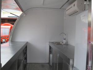 調理のための屋外の通りのファースト・フードのトレーラー(SHJ-FS290B)