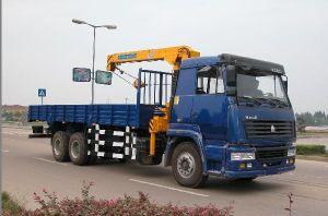 Caminhão HOWO Sinotruck grua montada, / guindaste caminhão, caminhão Guindaste