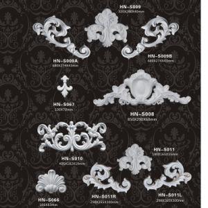 De SierAfgietsels de Decoratie Applique en Onlay hn-S002 van Pu van het polyurethaan