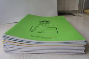 Papelaria Escolar de alunos a granel barata College governou o notebook