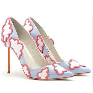 Mesdames High Heels Shoes a fait la conception de la TOE Mesdames les chaussures de mariée
