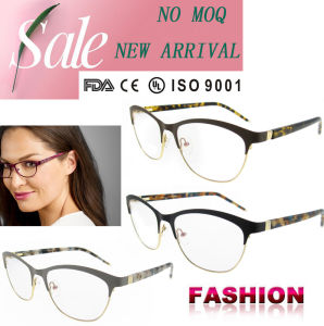 Nouveau modèle de lunettes de lunettes de trame Vogue fashion images optiques Lunettes