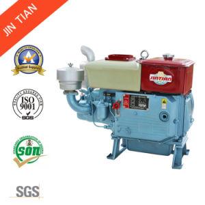 Модели с возможностью горячей замены 14 HP небольшой дизельный двигатель с водяным охлаждением (ZS195)