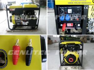 Refroidi par air de type ouvert Générateur Diesel 190un soudeur Machine à souder