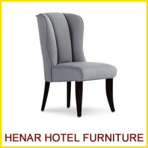 Tapizados en tela gris único cómoda silla de comedor para ...