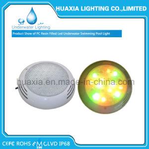 42watt indicatore luminoso della lampada del raggruppamento riempito resina bianca di nuoto subacqueo LED