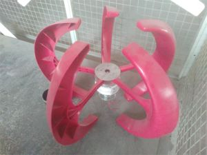 縦100W風力または風製造所の風発電機