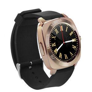 X3 mette in mostra il colore rotondo astuto dell'oro dello schermo del telefono mobile della vigilanza di Bluetooth