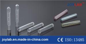 Varia provetta di formato del laboratorio con buona qualità, materia plastica o il materiale di vetro